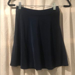 Brandy Melville- Navy Blue Skirt